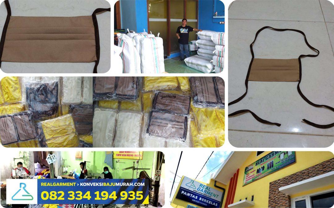 REAL GARMENT 082 334 194 935 > Pabrik Masker Kain Surabaya
