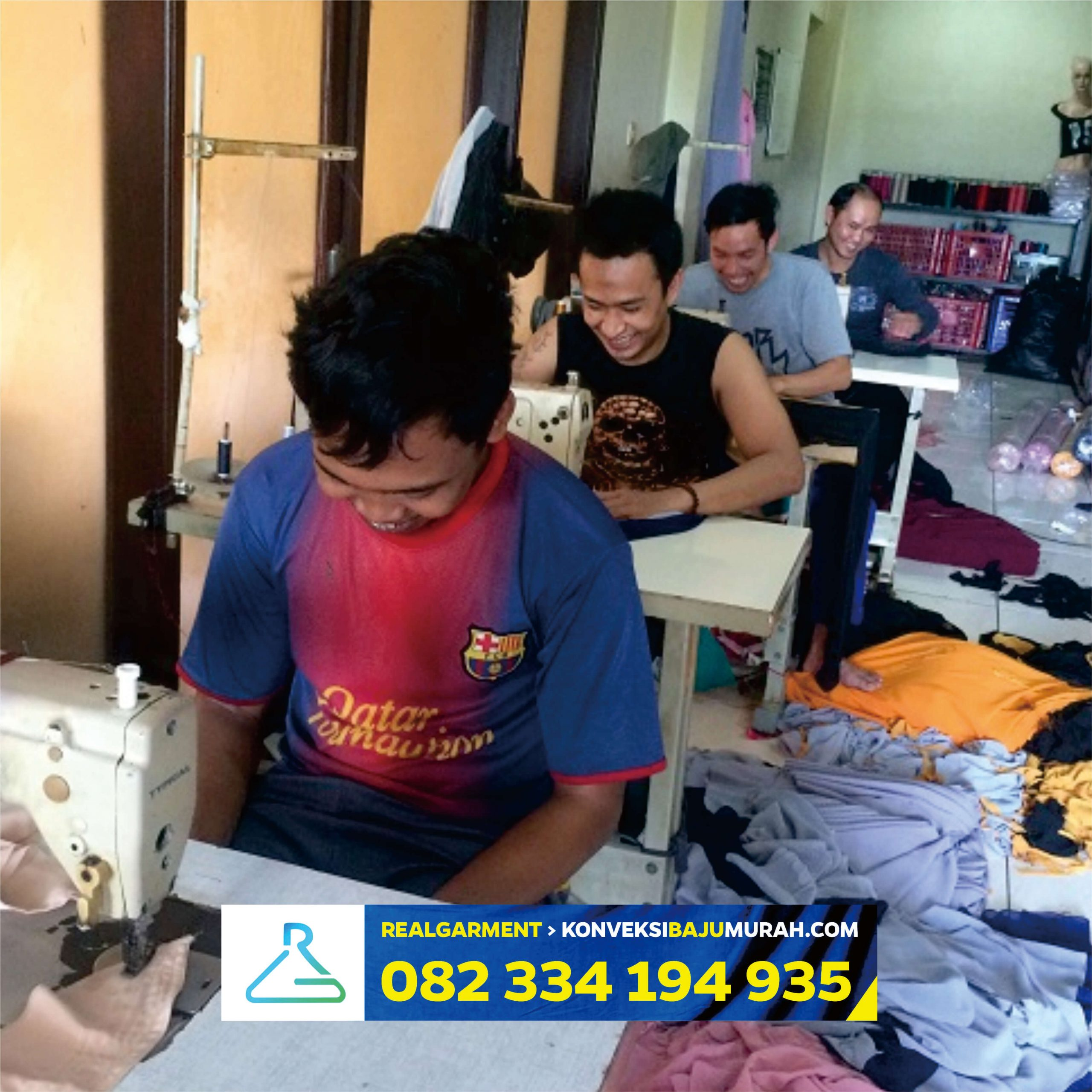 Pabrik Baju Hazmat Lumajang