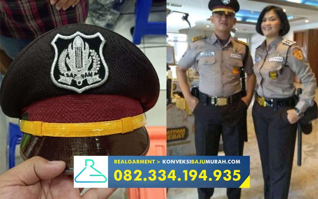 baju pdl security terbaru, seragam pdl security terbaru, seragam satpam terbaru warna coklat