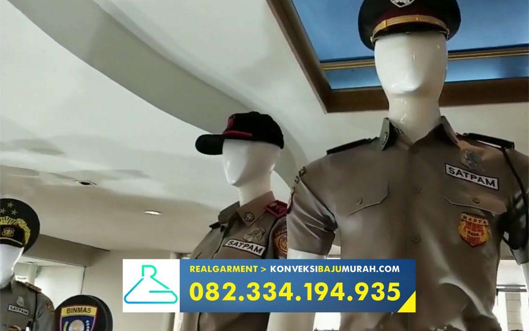 konveksi seragam satpam, supplier seragam security, penjahit seragam security, pabrik seragam security surabaya
