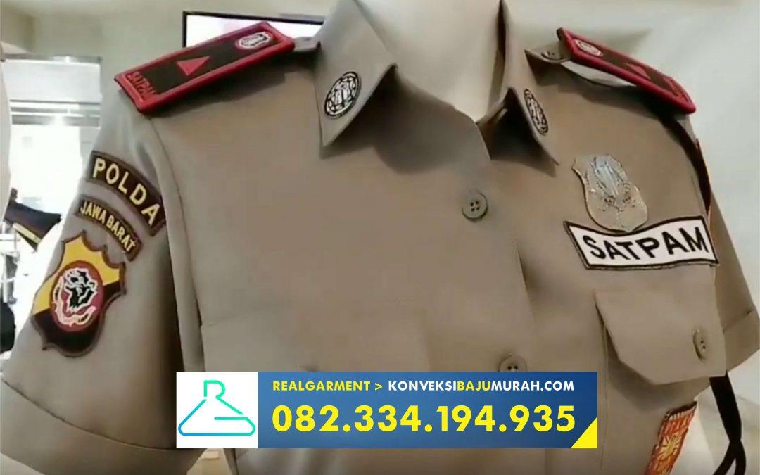 REAL GARMENT 082 334 194 935 > Konveksi Baju Security Terbaru Pasuruan
