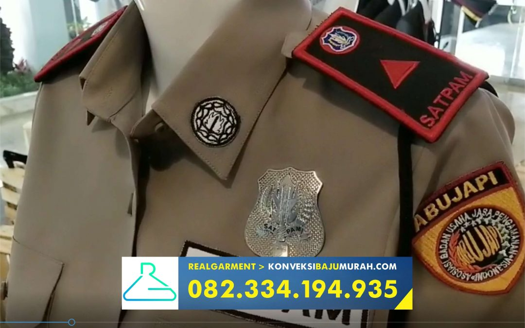 pabrik seragam security surabaya, paket seragam security, pakaian seragam security terbaru
