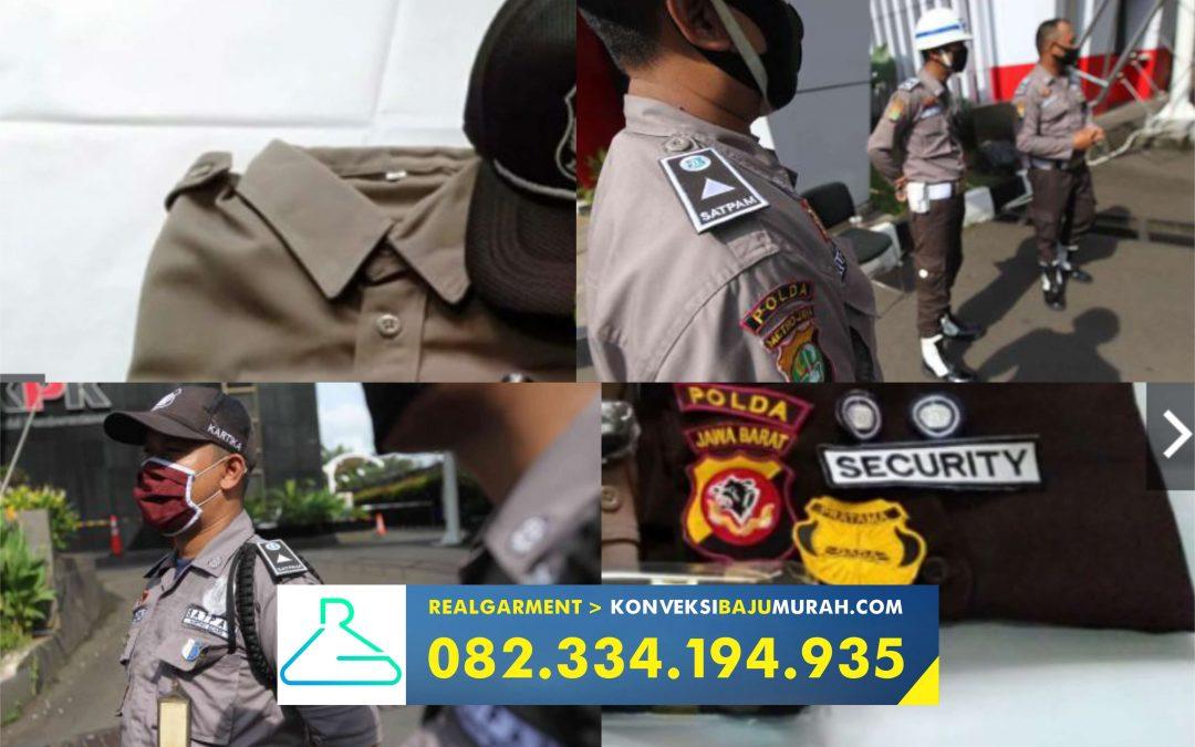 seragam satpam terbaru dan pangkatnya, konveksi seragam satpam, supplier seragam security