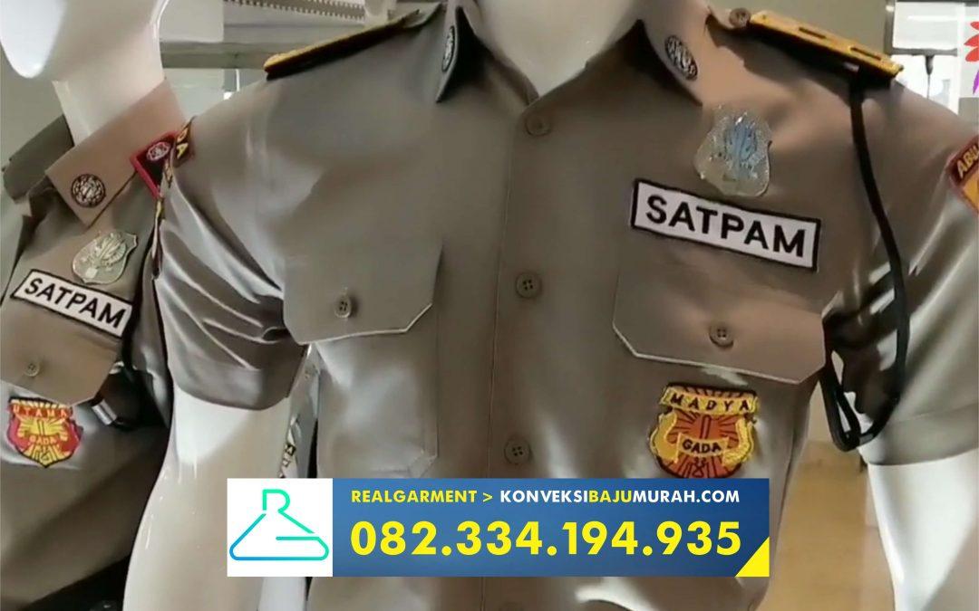 seragam satpam terbaru dan pangkatnya, konveksi seragam satpam, supplier seragam security sidoarjo