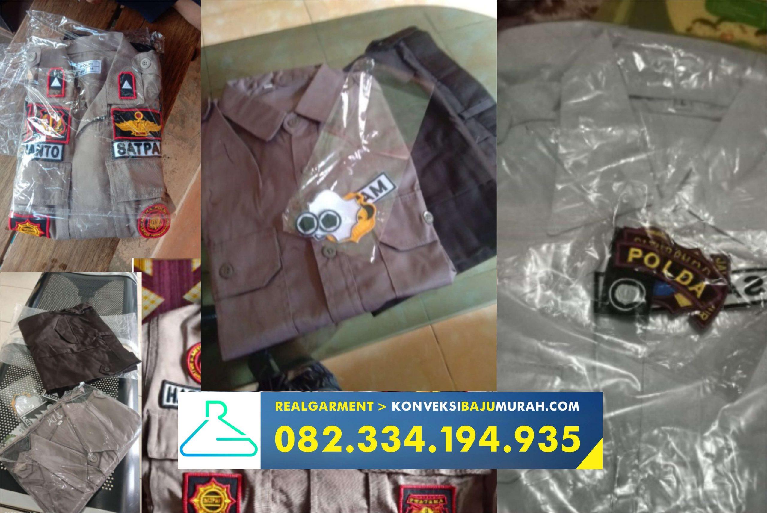 baju pdl security terbaru, seragam pdl security terbaru, seragam satpam terbaru warna coklat sidoarjo