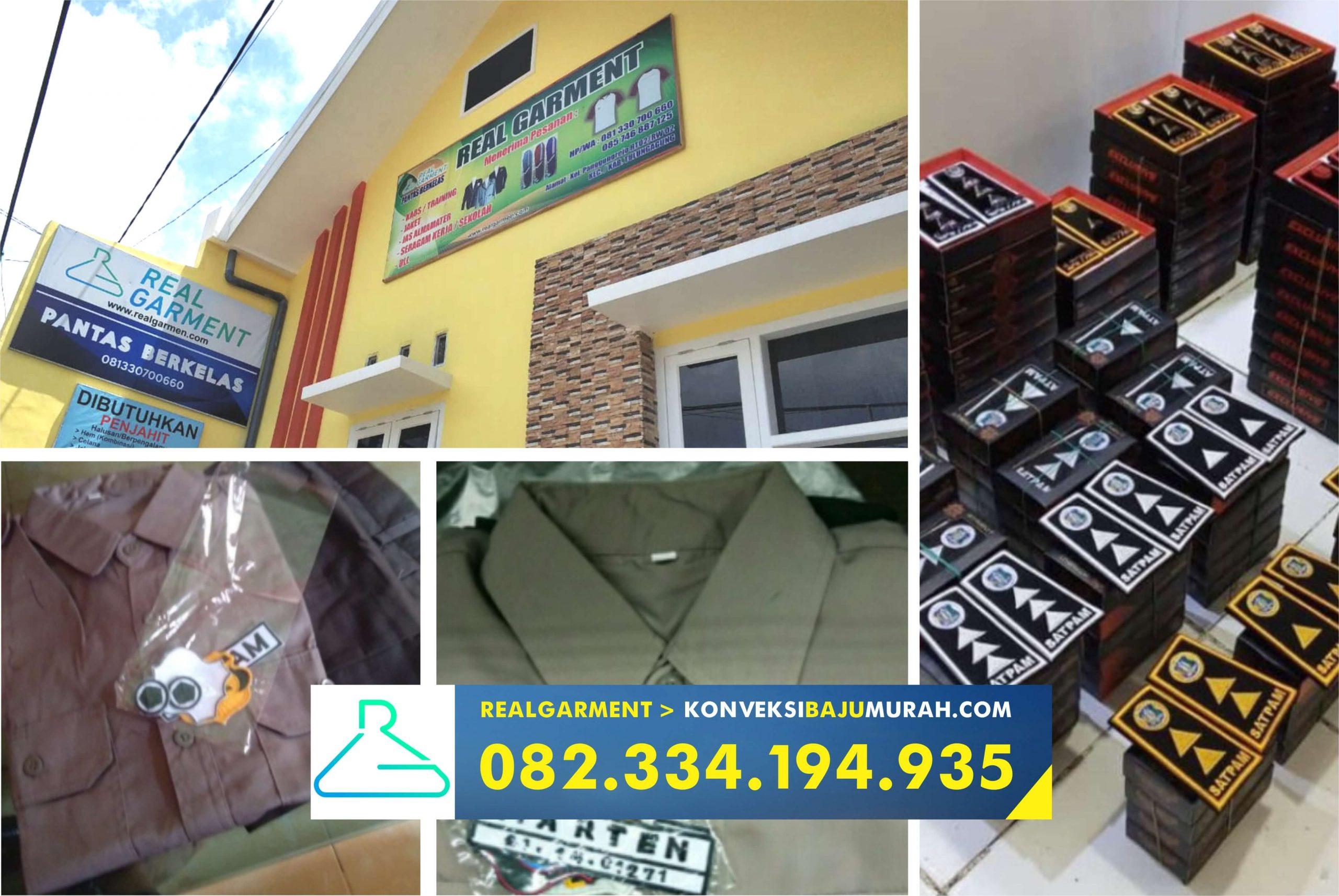 konveksi seragam satpam sidoarjo, seragam satpam terbaru warna coklat, seragam satpam terbaru dan pangkatnya